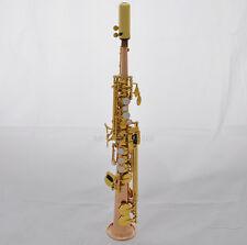 Professional sopranino sax Rose brass Eb Sax Low B to High E saxophone with case