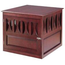 Titan Mahogany Buddy Residence, Wooden Pet Crate