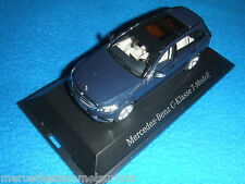 Mercedes Benz S 205 New C Klasse/C Class T Modell/Estate Cavansitblau 1:43 Neu