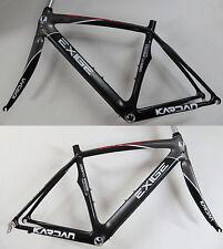Kardan Exige Vélo De Course Carbone Cadre Kit Fourche M 49cm noir/gris
