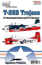 T-28 B Trojan: VT-2 Bicentennial, VT-27 (1/48 decals, Superscale 481262)