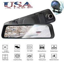 LCD Dual Lens 10 HD Car DVR 1080p Video Camera Recorder Dash Cam Night Vision