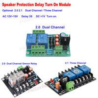Stereo 2.0 2.1 Speaker Protection Board Delay Module for Audio Amplifier Board