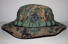 NEW USMC BDU Combat Boonie Cover Woodland MARPAT Digital Genuine Issue ~ XLarge