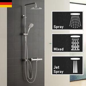 Regendusche Duschsystem Duschset Duschgarnitur mit Handbrause Dusche Badezimmer