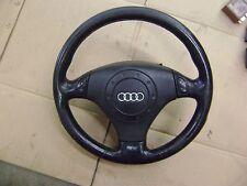 00 01 02 Audi S4 B5 A4 Sport Steering Wheel Tiptronic 8D0419091AE w/ Air Bag 3a