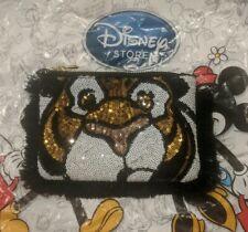 Disney store face Jasmine tiger sequin Aladdin Rajah Purse Clutch Bag
