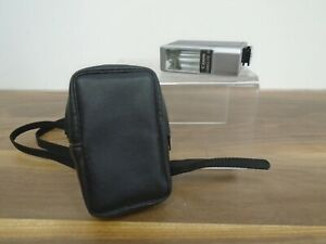 Vintage Canon Canolite D Electronic Flash Leather Case Untested