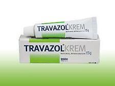 New Travazol Vaginal/foot Anti fungal Cream 15g Athletes Foot/Thrush/Nappy Rash