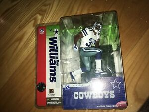 Roy Williams Dallas Cowboys 2004 McFarlane Toys Figure MIP