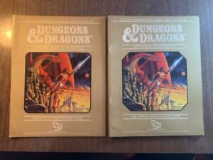 TSR Dungeons & Dragons Player's and DM's Guide to Immortals Books