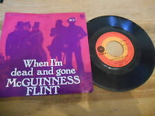 "7"" Rock McGuiness Flint-When I 'm Dead and Gone/Lazy a (2) canzone Capitol EMI"