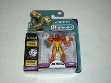 World Of Nintendo Action Figures Metroid Samus 4 Inch Figure FREE SHIPPING