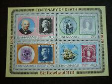 Stamps - Bahamas - Scott# 453a - Souvenir Sheet