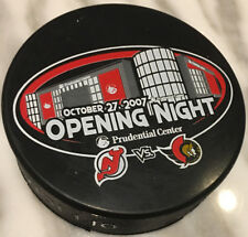NJ Devils Opening Night Prudential Center Puck 10/27/07 THE ROCK