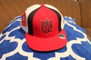Houston Texans NFL Shield Logo Reebok Flat Bill Fitted Hat/Cap Size 7 7/8 NWT