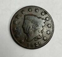 1821 P Large Cent 1C Very Good