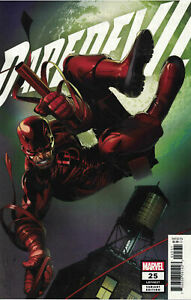 🔥 DAREDEVIL #25 (2020) 1ST PRINT ELEKTRA AS DAREDEVIL, LARROCA 1:25 VARIANT NM-