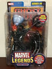 Ghost Rider W/ Flame Cycle Series VII Marvel Legends Limited Edition
