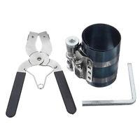 3Pcs Car Auto Ratchet Piston Ring 53mm-175mm Caliper Pliers Clamp Compressor