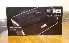 Altec Lancing NJ-1 Nick Jonas Collaboration Bluetooth Speaker, Black