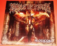 Cradle Of Filth: The Manticore Double LP 2 Vinyl Record Set 2012 Peaceville NEW