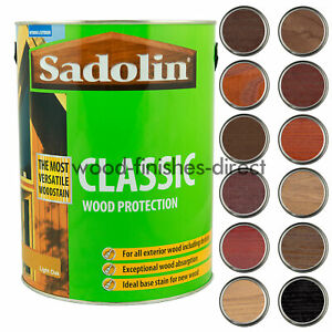 Sadolin Classic Wood Protection - 1L, 2.5L & 5L -  FREE DELIVERY