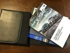 2017 BMW X5M AND X6M OWNERS MANUAL SET WITH CASE