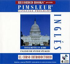 """Pimsleur: English for Spanish Speakers """"El Curso Introductorio"""" 4CDs"""
