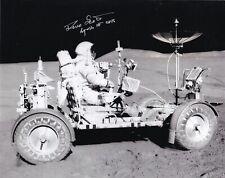DAVE SCOTT APOLLO-15  MOON WALKER -DRIVING EVA- SIGNED 8x10 PHOTO NASA W-COA