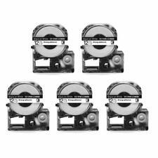 5PK SS12KW LK-4WBN LC-4WBN LC 4WBN9 LK Label Tape Cartridge Compatible for Epson
