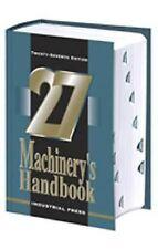 Machinery's Handbook 27th Edition (Toolbox Edition) 2004, Hardcover