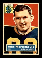 1956 Topps #91 John Martinkovic Packers EX *s4