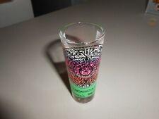 Cancun Mexico Calendarios Azteca Tall Clear Shot Glass!