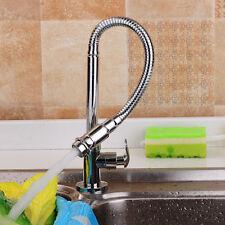 Flexible Robinet Cascade Lavabo Rotation 360° Faucet Chrome Cuisine Salle Bain