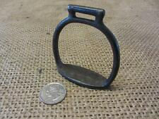 Vintage Cast Iron Stirrup For Toy Horse > Antique Old Western Farm Bits 9575