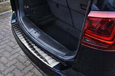 Ladekantenschutz für VW Sharan 2 II 7N 2010-2016 mit Abkantung Edelstahl 2/35454