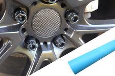 4x Jantes,Jantes en Alliage Volant Couvercle Design Film Bleu Clair Mat Pour