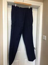 BNWT Haywood TL45 Work Nurses Carer Cargo Trousers in Navy Size 18 X 29L