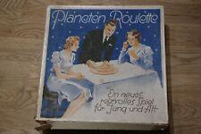 Planeten Roulette. Esoterisches Gesellschaftsspiel. Goebel Verlag, ca. 1930 !!