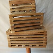 VANDA BASKET TEAK  150mm x 150mm