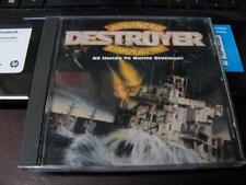 ADS DESTROYER ADVANCED SIMULATOR - ALL HANDS TO BATTLE STATIONS ~ CD-ROM PC GAME