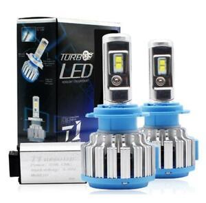 H7 LED Headlight Bulbs Canbus Conversion Kit 6000K Turbo Light White 70W 28000LM