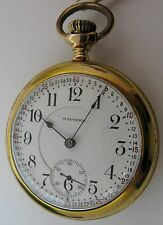 Waltham 1892 Vanguard Pocket Watch 18s 31j. 5 adj. movement OF Monty Montgomery