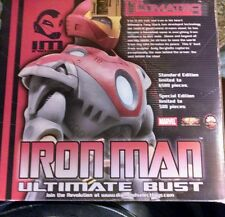 IRON MAN  THE ULTIMATES LIMITED EDITION SIGNED  BUST FREE SHIPPING!!!