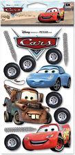 DISNEY CARS EK Success  Dimensional Stickers DCGIJ06 McQueen Tow Mater Sally