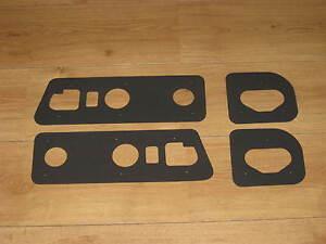 Honda CRX Rear Light Seals Gaskets Mk2 1988 to 1991