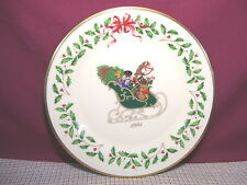Lenox China Holiday Annual Christmas Plate 1991 First Quality