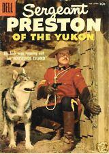 RARE DELL COMIC SERGEANT PRESTON OF THE YUKON '57 NM NR