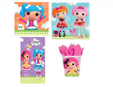 """Lalaloopsy 7""""Plates, Napkins, 9 Oz cup birthday party, Tablecover tableware"""